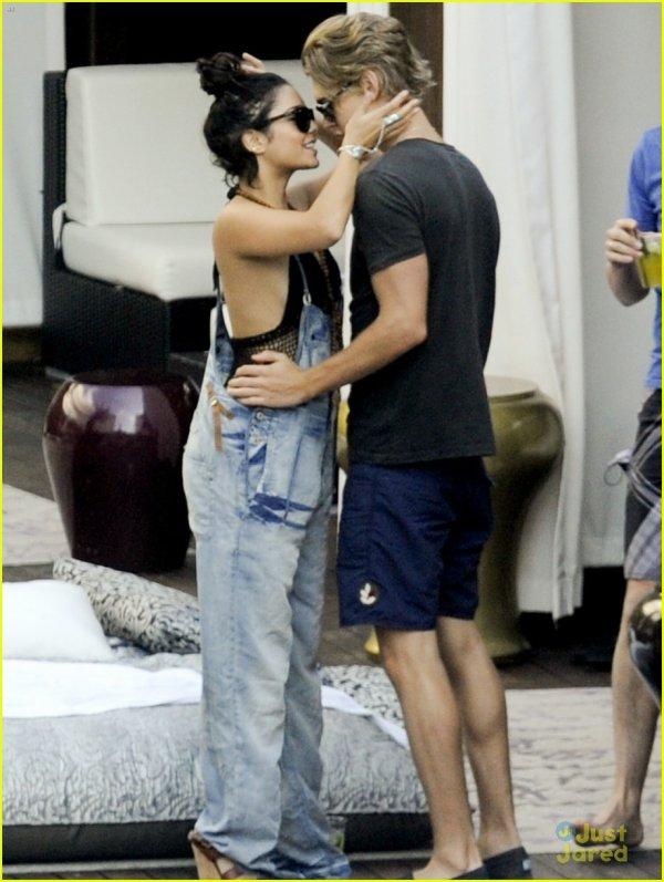 Vanessa Hudgens et Austin Butler à Miami .