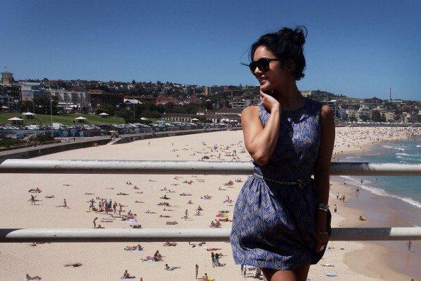 Vanessa Hudgens en Australie .