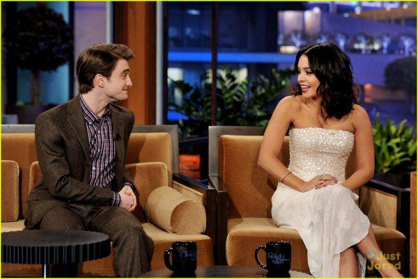 Vanessa Hudgens s'est rendue à l'emission américaine « The tonight show with Jay Leno » le 01/02/12 .
