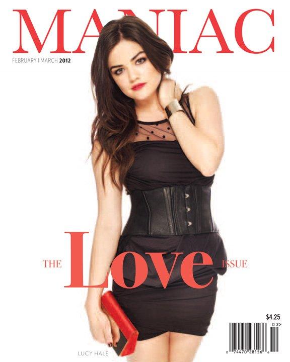 Lucy Hale pose pour Maniac Magazine ( pardon pour la mauvaise qualité )