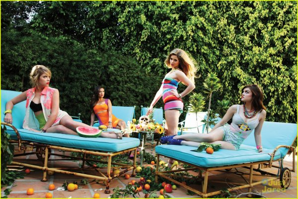 Photoshoot Lucy, Ashley, Shay et Sasha. ♥