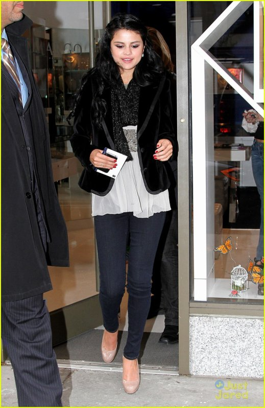 Selena Gomez à New York City le 11 avril.