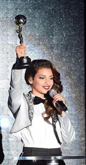 Tal aux World Music Awards le 27/05/2014, à Monaco (3/4)