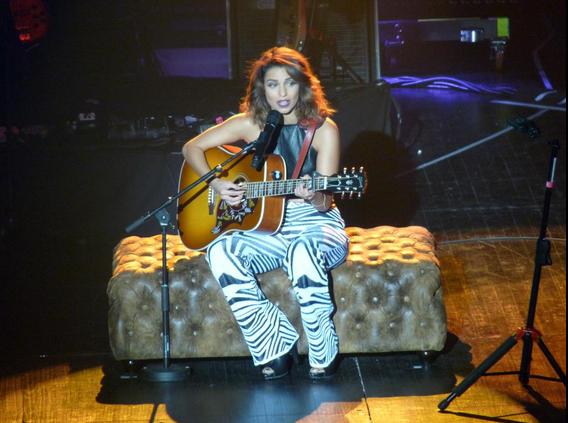 Début de l'Acoustic Tour