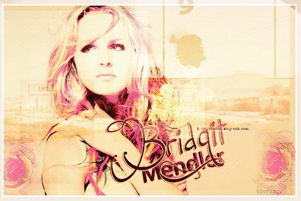 .  ♦  Suis toute l'actualité de la magnifique Bridgit Mendler c'est ici, sur  Bridgit-Mendl !   .