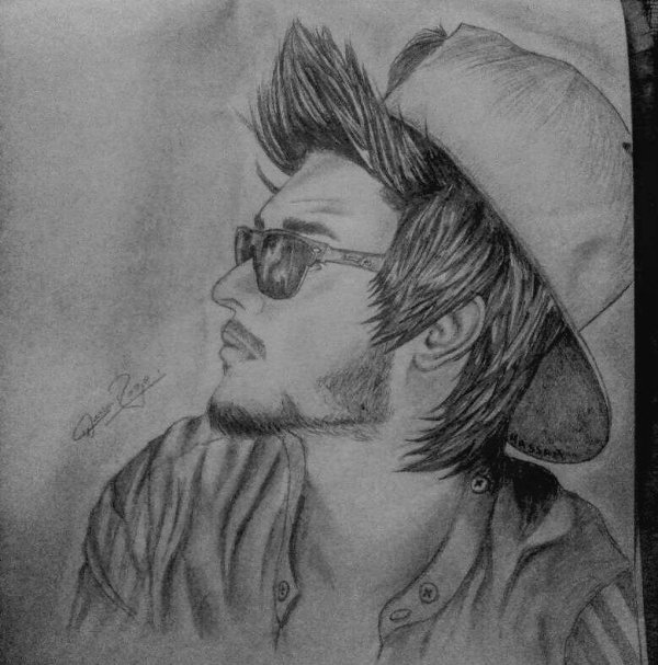 Hassan Raza Sketch