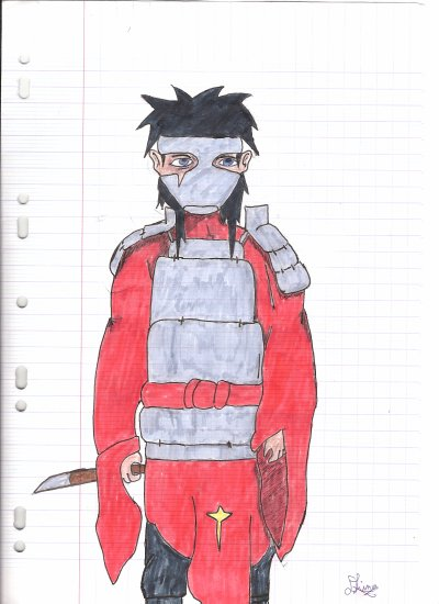 Dessin n°14 (personnage inconnu )