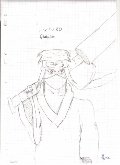 Dessin n°15 ( Jukuro Gaikido )
