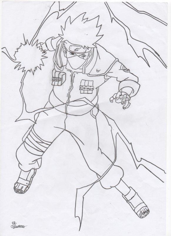 Kakashi dessin 24