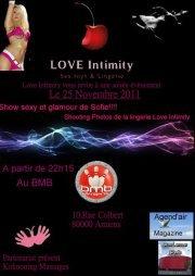 Soirée Love intimity le 25 Novembre au BMB (Bowling) anciennement le BAM à Amiens!!!