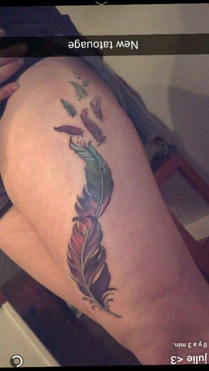 Un ptit nouveau tatouage sur la liste
