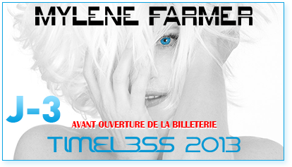 myléne farmer Tournée Timeless 2013