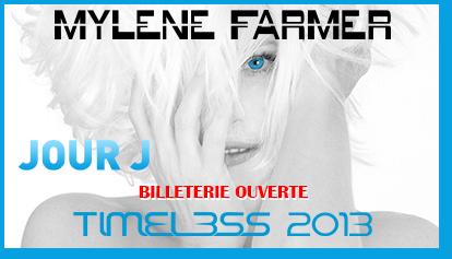 Timeless 2013 - Jour J - Billetterie ouverte