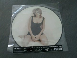 l'album au format Picture Disc