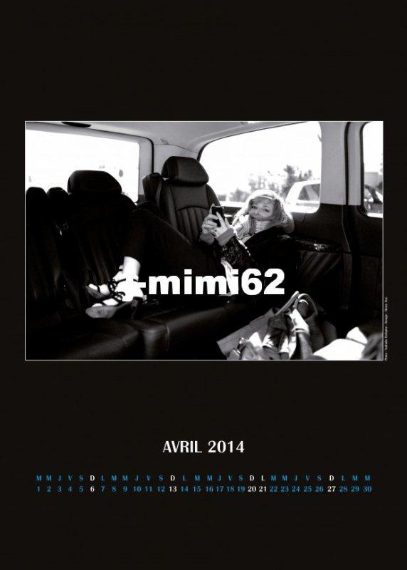 calendrier avril 2014
