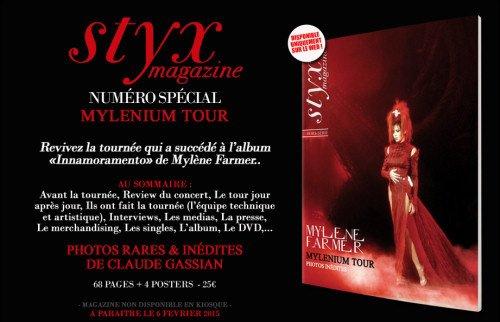 Magazine spécial Mylenium Tour - Une / Photo inédite