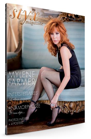 """du nouveau numéro de """"Styx Magazine  Mylène Farmer"""