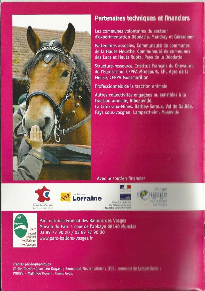 """LIVRET-DVD """"La traction animale, une pratique moderne pour une ruralité durable"""""""