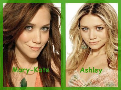 Mary-Kate VS Ashley