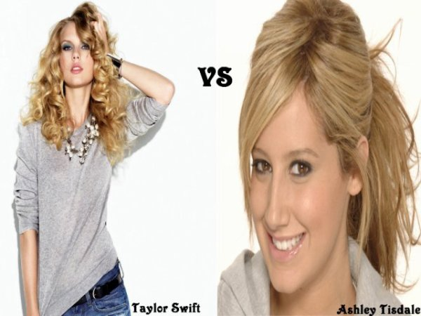 Taylor Swift VS Ashley Tisdale