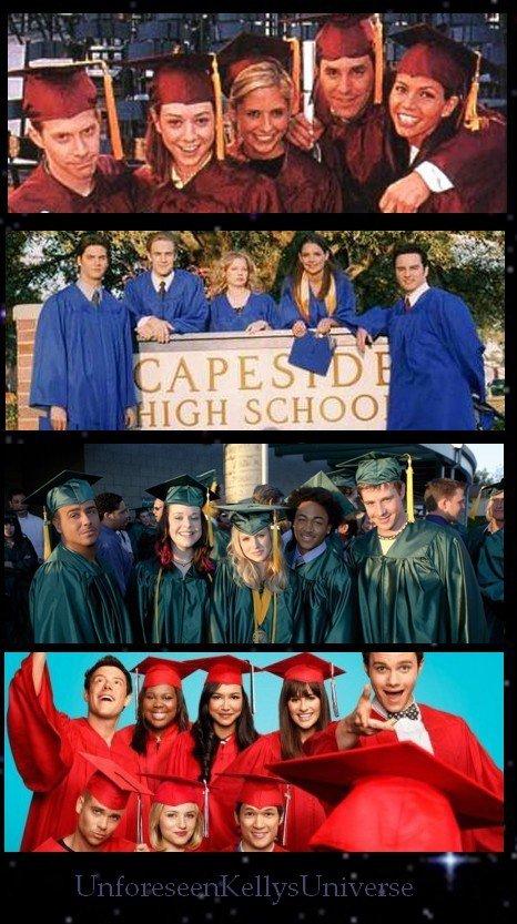 Les diplômés dans les séries...