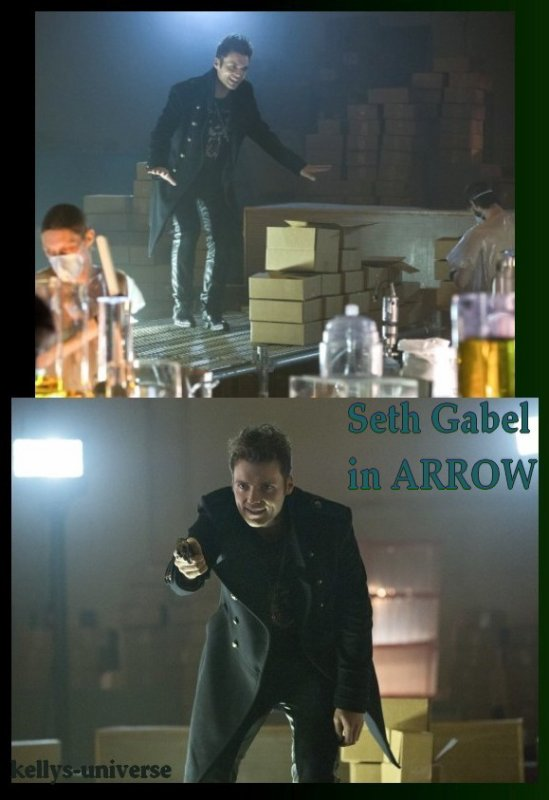 SETH GABEL dans Arrow