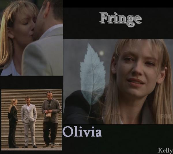 Fringe  3 X 1 Olivia