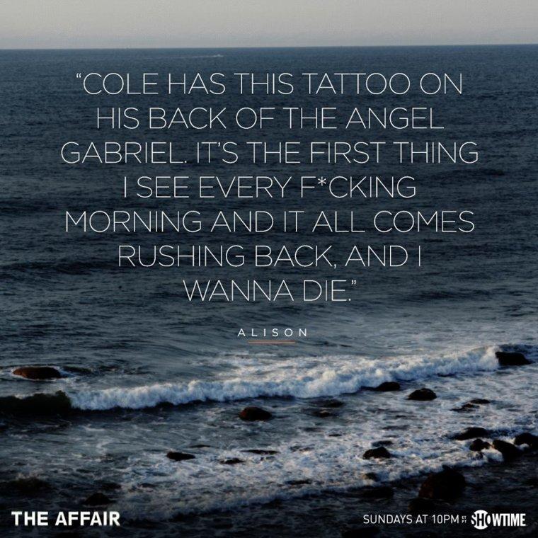 -- The Affair affiches episode 4 & Photos du cast --