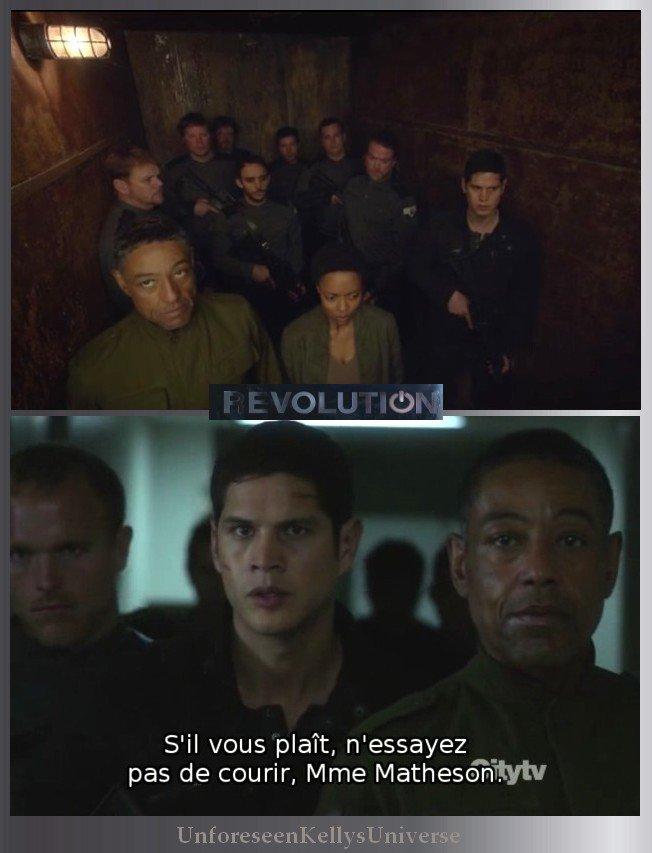 "REVOLUTION le final  ""Dark Tower"""