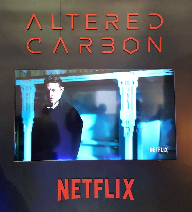 Altered Carbon nouvelle série Netflix