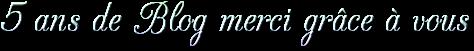 +++ Anniversaire du Blog +++