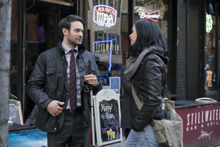 The Defenders gifs Jessica Jones et Dardevil #2