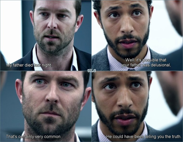 --Blindspot : Why Await Life's End ,final saison 1--