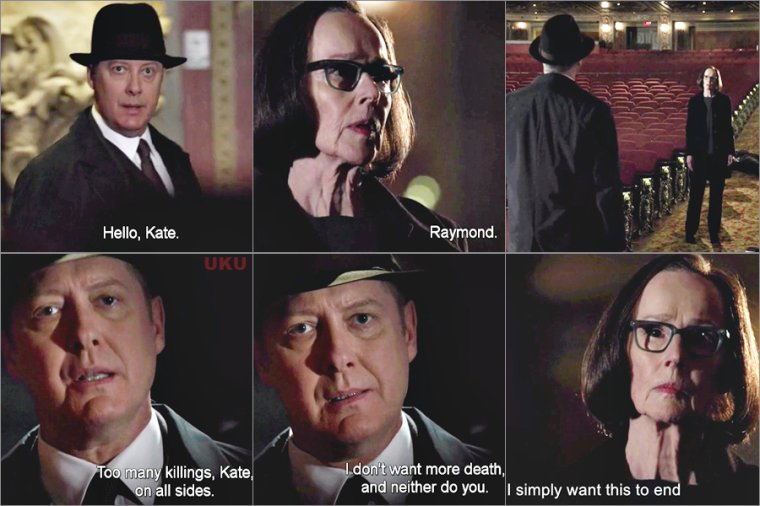 "The Blacklist saison 4 Mon avis sur le Final "" Mr Kaplan"""