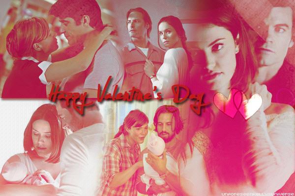 La Saint Valentin bientôt , les couples dans les séries