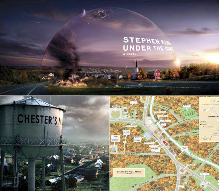 Villes ,et villages dans les séries...