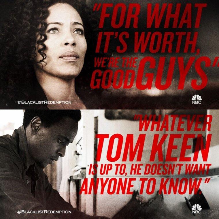 The Blacklist Redemption mon avis sur la saison 1