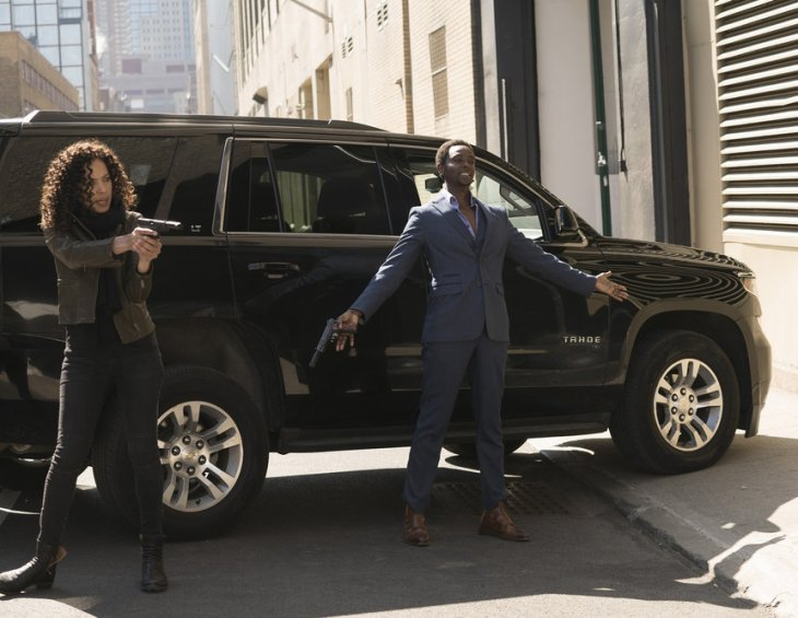 The Blacklist Redemption scène Tom , Nez et Solomon