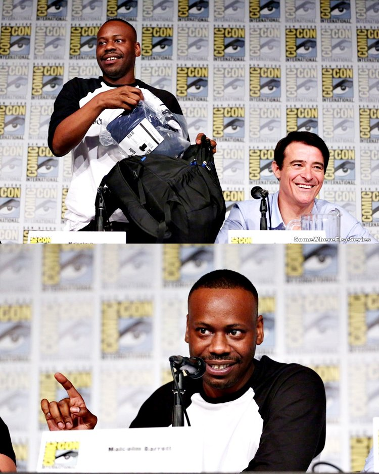 Timeless au comic con de San Diego 2017