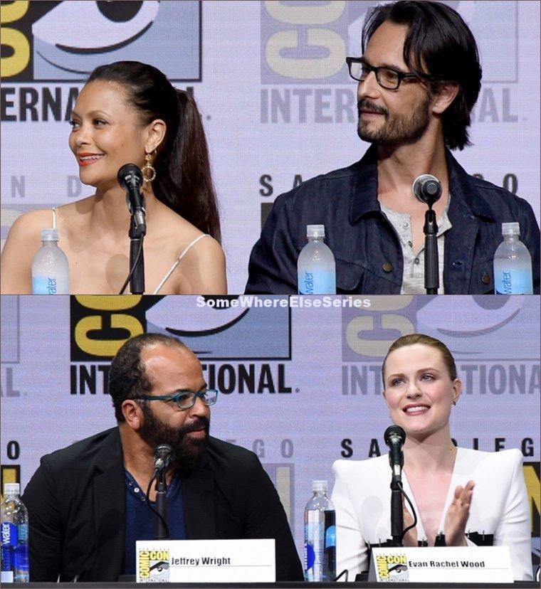 Comic Con San Diego  2017 Westworld saison 2
