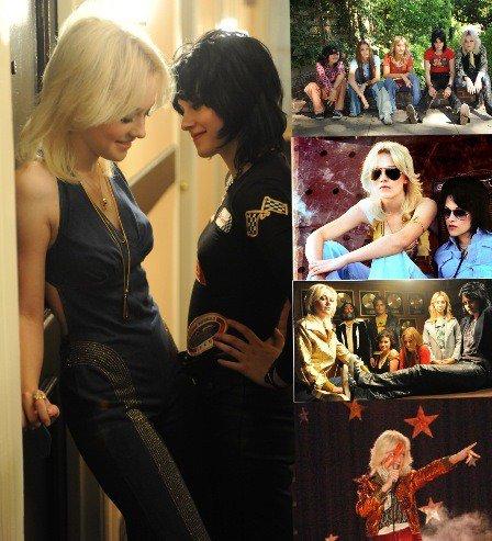 The Runaways___de Floria Sigismondi, avec Kristen Stewart, Dakota Fainning.