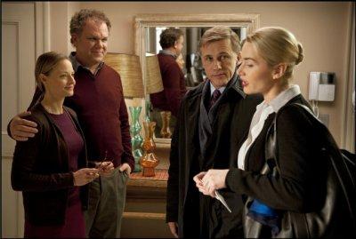 Carnage__de Roman Polanski, avec Jodie Foster, Kate Winslet, Christopher Waltz, John C.Reilly.