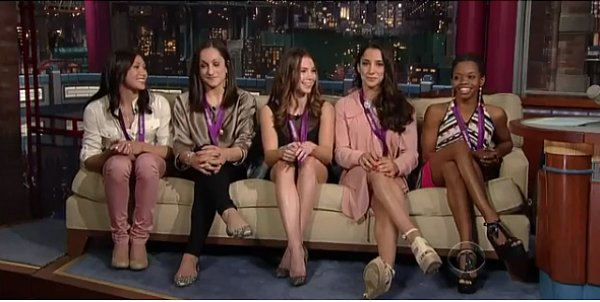 Le Fierce Five chez David Letterman
