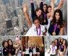 Les américaines dans L'empire State Building.