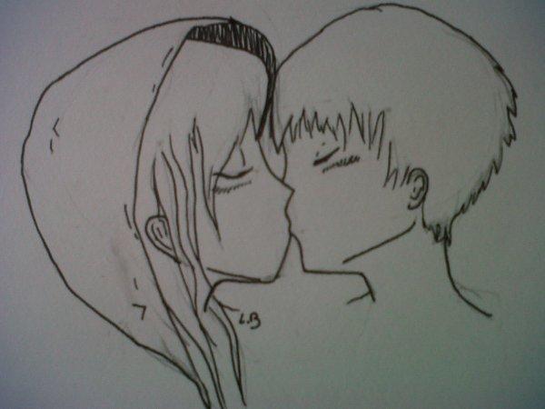"""""""Un doux baiser"""" (base)"""