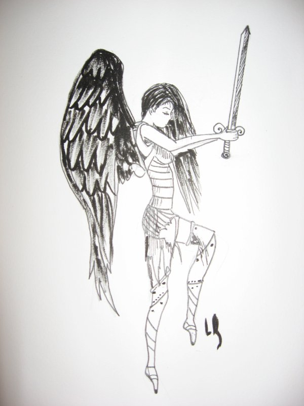 """""""ange guerrier déchu"""""""