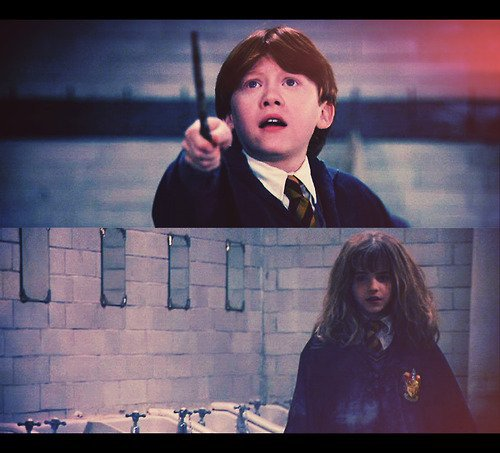 oO cent-vingt-huitième fiction : R-Ron-Hermione-H Oo