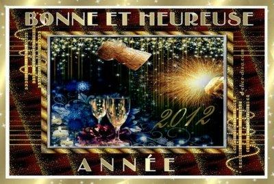 Bonne année 2012 à tous !!