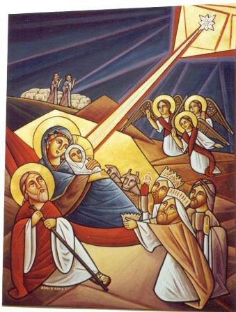 Noël copte en Egypte : du 6 au 7 janvier 2012.
