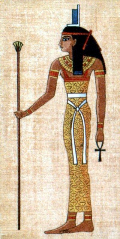 La déesse Isis.